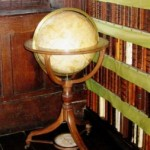 The Library also houses a fine globe