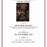 The Plume Lecture 2015