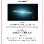 Lecture Poster - 2013 The Hidden Universe Revealed